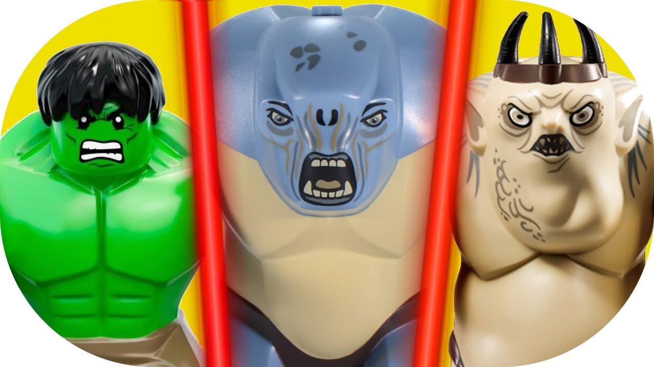 lego hulk vs lego cave troll -#main