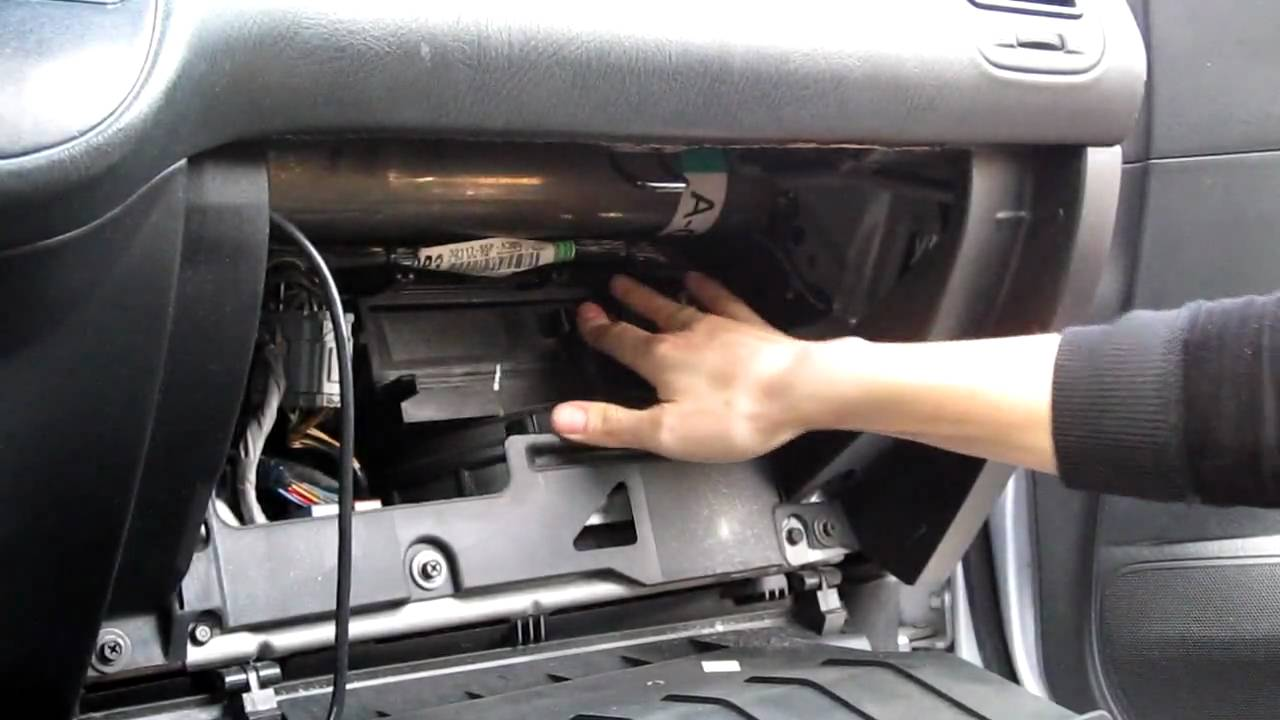 cabin air filter location honda civic  cabin  free engine