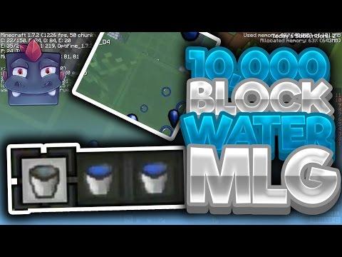 10,000 Block MLG Water Bucket - UHC Highlights