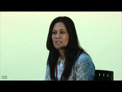 Vaahini webcast with Chhavi Rajawat, India's first woman Sarpanch with an MBA - YouTube