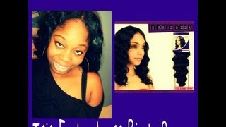 Quick Weave Tutorial W/ Isis Enchantress Ripple Deep