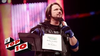 Top 10 Raw moments: WWE Top 10, June 13, 2016