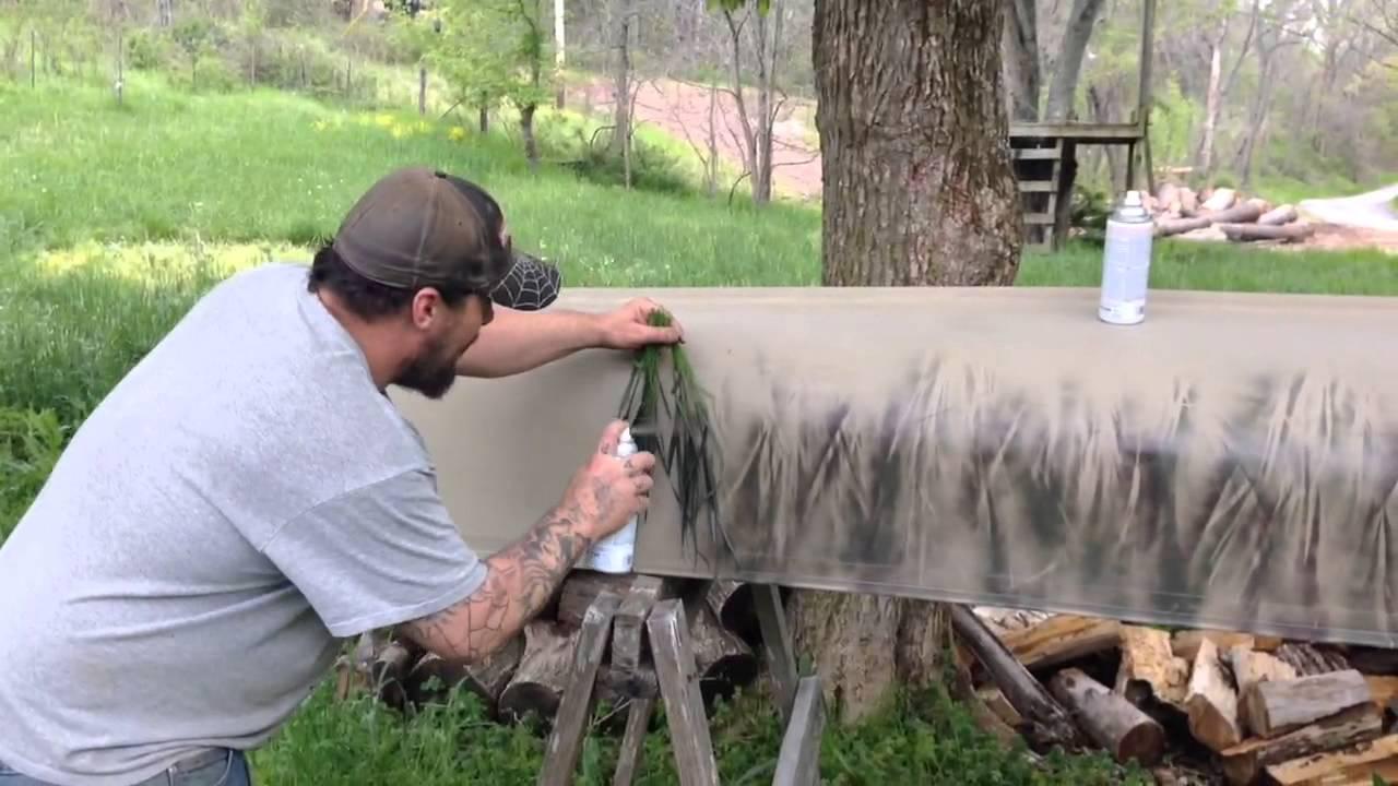 Camouflage Canoe Youtube