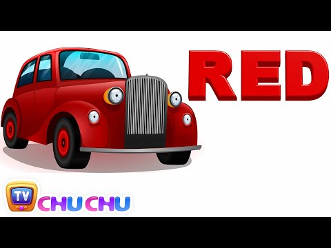 Color Songs - The Red Song | Learn Colours | Preschool Colors Nursery Rhymes | ChuChu TV