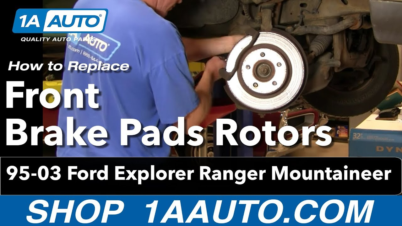 How To Install Front Brakes Rotors On A Ford Ehow Autos Post