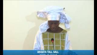 Aissata Tall Sall dit merci à Abdoulaye Wade, Idrissa Seck et Gadio après sa victoire