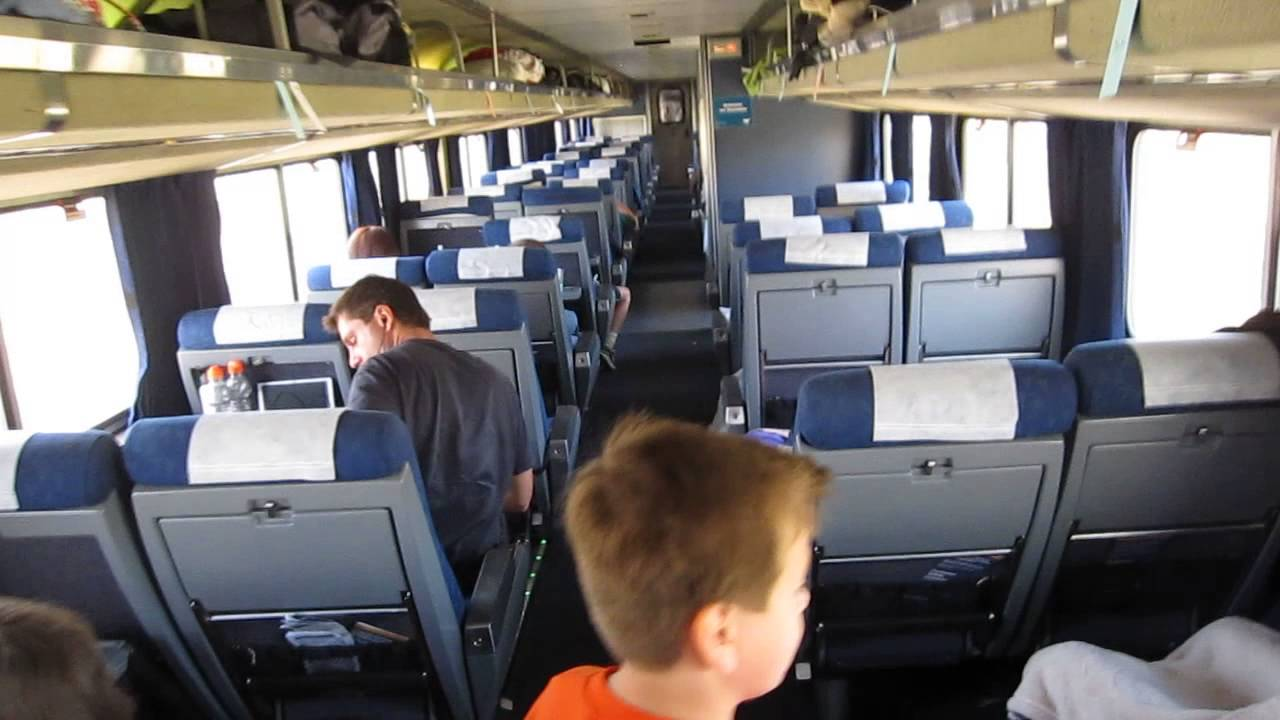 Amtrak Superliner Coach Car Youtube