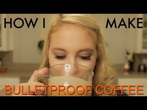 How Maddie makes her Bulletproof Coffee