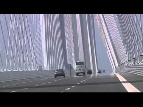 Cầu Dây Văng Lớn Nhất Thế Giới Tại Trung Quốc