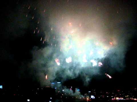 HD Sydney New Year Eve 2011 fireworks Sydney Harbour Bridge Part 1.MPG