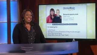 Loni Love on Christian Mingle