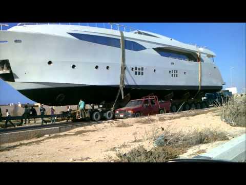 Big Ass Yacht Transport