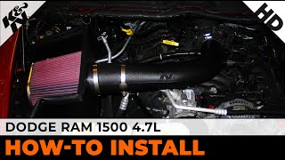 2008-2012 Dodge Ram 1500 Pickup Air Intake Installation
