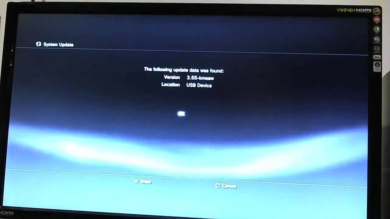 PS3 3.55