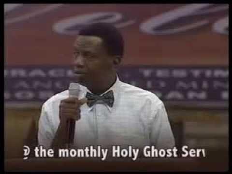 Let there be light1  by Pastor Adeboye