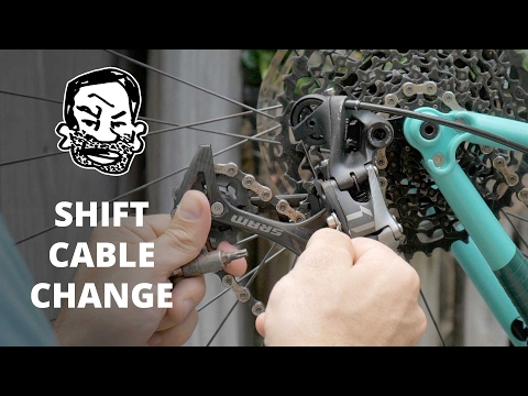 How to change a shift cable on your MTB