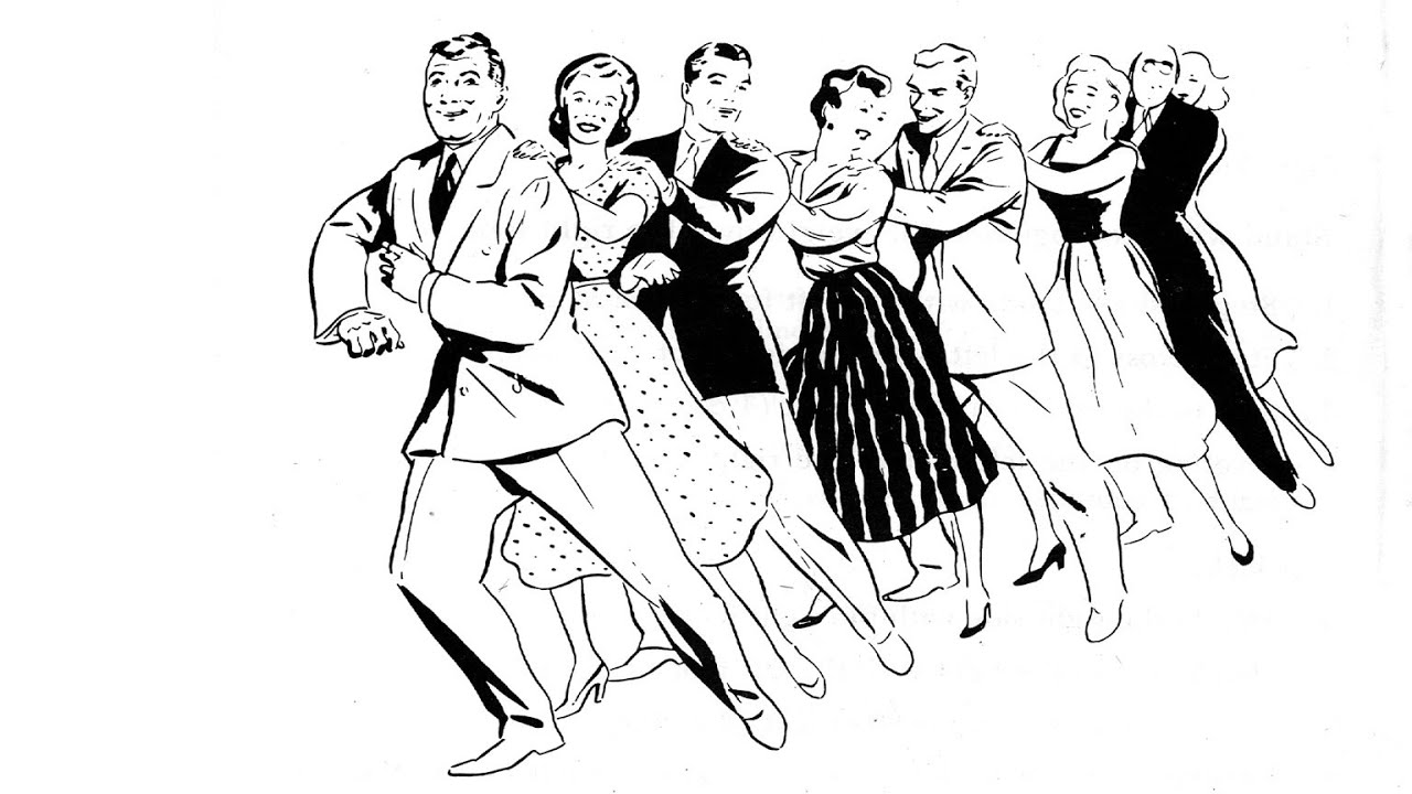 conga dance Colouring Pages