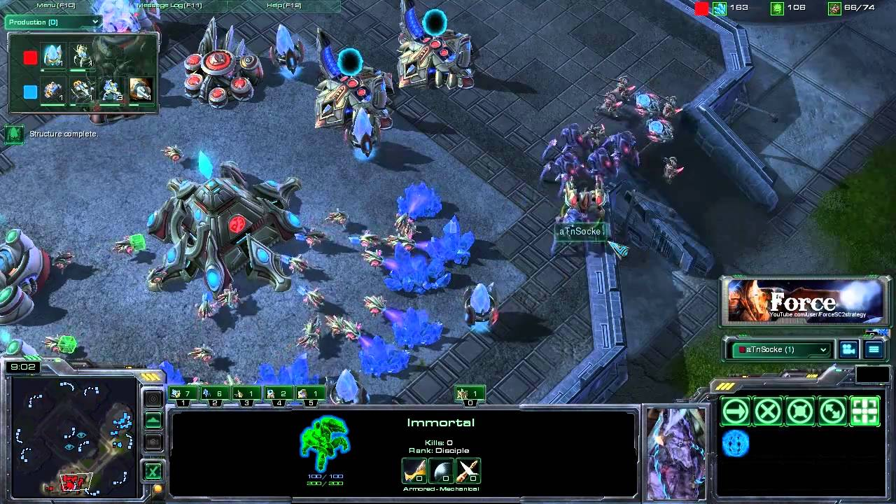 Starcraft  Colossus Build