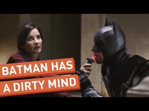 Batman Can't Stop Thinking About Sex, LIKE us on: http://www.facebook.com/collegehumor The Dark Knight isn't the only thing rising because also his  is rising. See more http://www.collegehum...