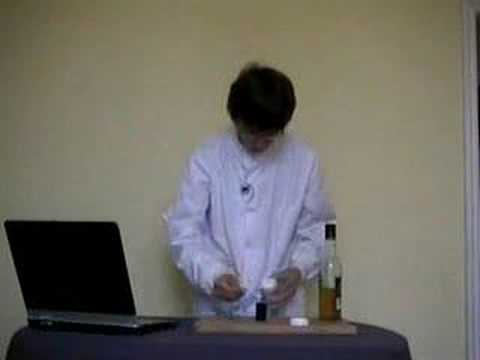 Doctor Campbell's Science Demo - Acid + Base = Salt