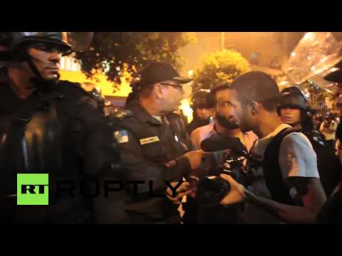 Brazil: Protests against fare hike continue in Rio