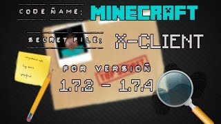 Minecraft 1.7.2 1.7.5 : Hacked Client Xclient TOP