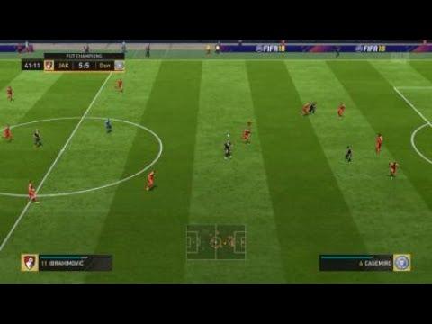 FIFA 18 FUT Champions - 7 kick off goals in a row
