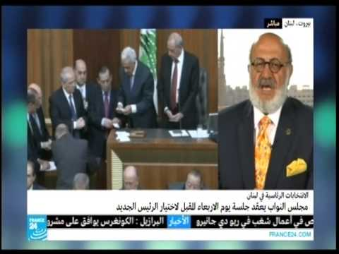 Roger Edde on Lebanese Presidential elections - France 24 -23.4.2014