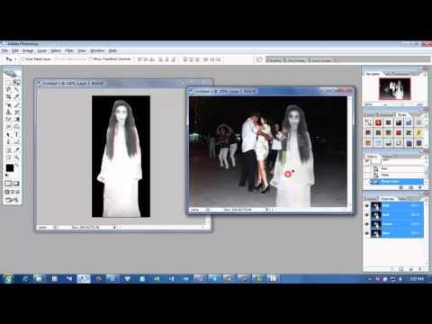 Cách ghép ảnh hồn ma bằng Photoshop CS2