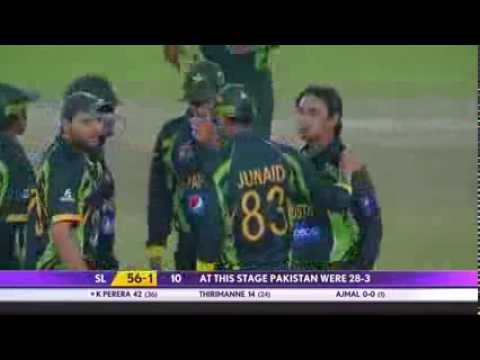 2014 Asia Cup Saeed Ajmal Wickets