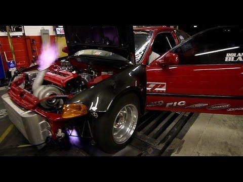 Turbo SFWD Civic Dyno Dynamic Performance