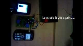 Homemade Cell Phone Controlled Remote Switch Circuit