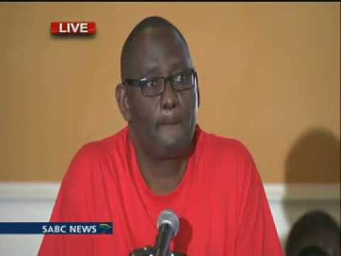 Zwelinzima Vavi Media Briefing