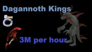 Dagannoth Kings Solo Guide 3M Per Hour 100K Slayer XP