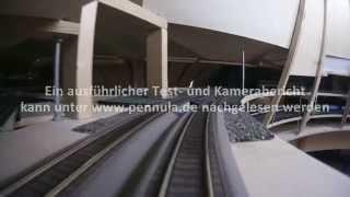 Führerstandsmitfahrt mit Lokkamera im Schattenbahnhof
