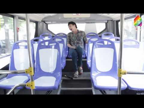 video hài hước - thảm họa trên xe buýt - BB & BG