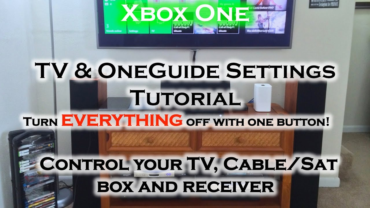 xbox one tv integration home theater cable sat box power off on youtube. Black Bedroom Furniture Sets. Home Design Ideas