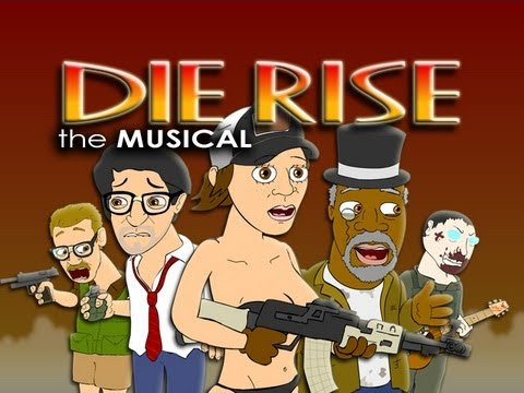 DIE RISE THE MUSICAL - Black Ops 2 Zombies Parody