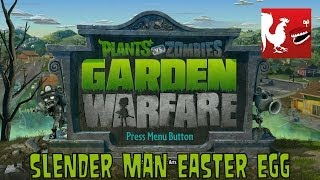 Plants Vs Zombies: Garden Warfare Slender Man Easter Egg