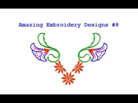 Free Embroidery Designs | Amazing Embroidery Designs ...
