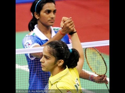 Saina vs Sindhu Badminton Supperb Match Highlights