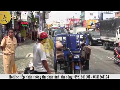 Xe tải tông  chết người bỏ chạy bị người dân truy đuổi