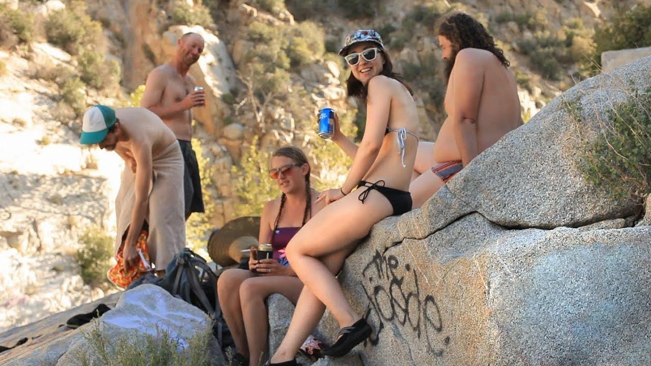 Herb Soaking in Buckeye Hot Springs | Lolos Extreme Cross