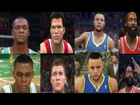 NBA LIVE 15  vs NBA 2K15! Comparison Screenshots To NBA 2K14 & NBA LIVE 14