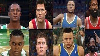 NBA LIVE 15 Vs NBA 2K15! Comparison Screenshots To NBA