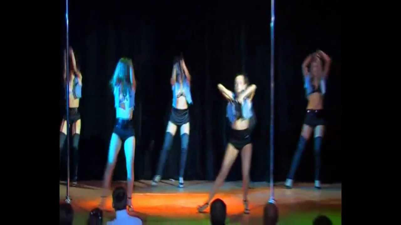 """Отчетный концерт Pole Dance в клубе """"Олимпия"""" 20.01.2013 г. Видео танца  """"Go-Go"""" (коллектив из гоу-гоу Project), педагог Рита Болотина."""