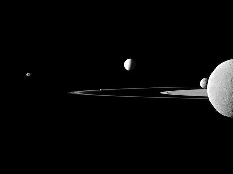 Saturn's Enceladus MOON hides 'great lake' of water - 3 April 2014