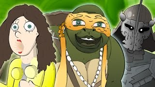 """Teenage Mutant Ninja Turtles"" Movie Trailer PARODY"