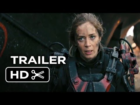 Edge Of Tomorrow TRAILER 1 (2014) - Tom Cruise Sci-Fi Movie HD