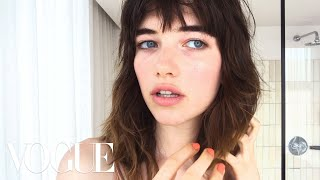 Model Grace Hartzel Gets the Vogue Girl Look | Beauty Secrets | Vogue
